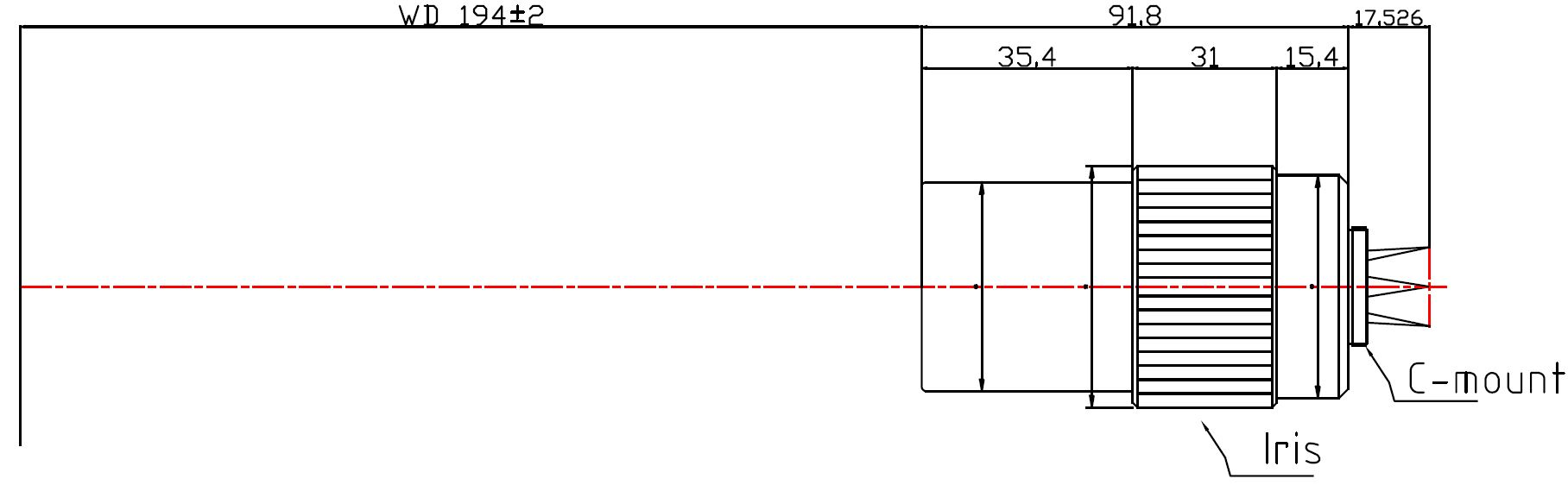 Lensagon MC4M-025-194I
