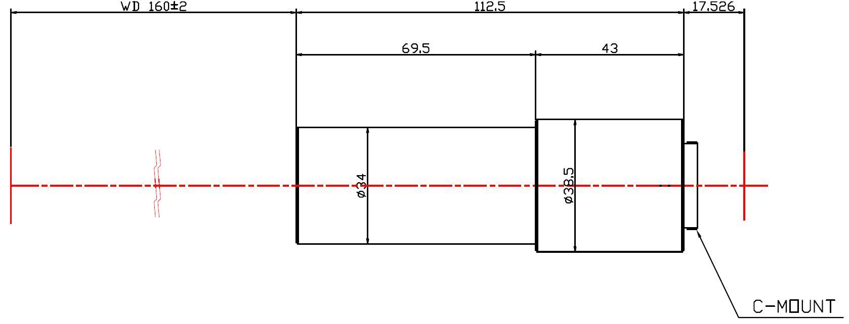 Lensagon MC4M-075-160
