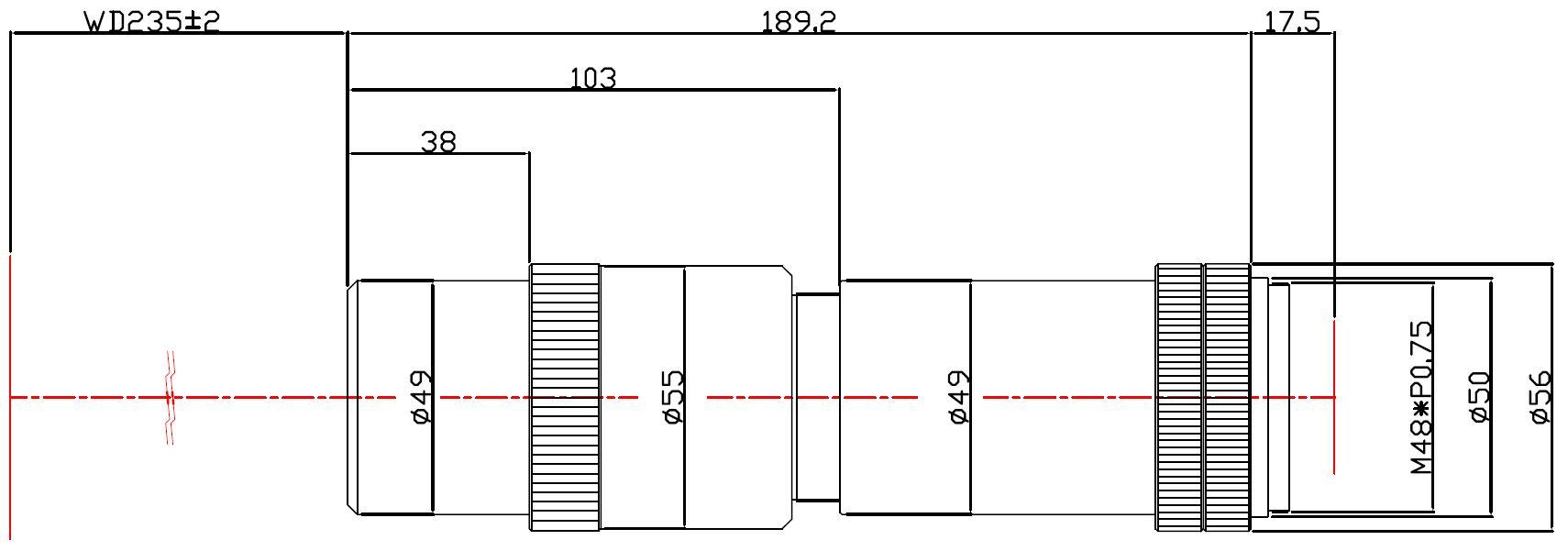 Lensagon MD12M-054-235I