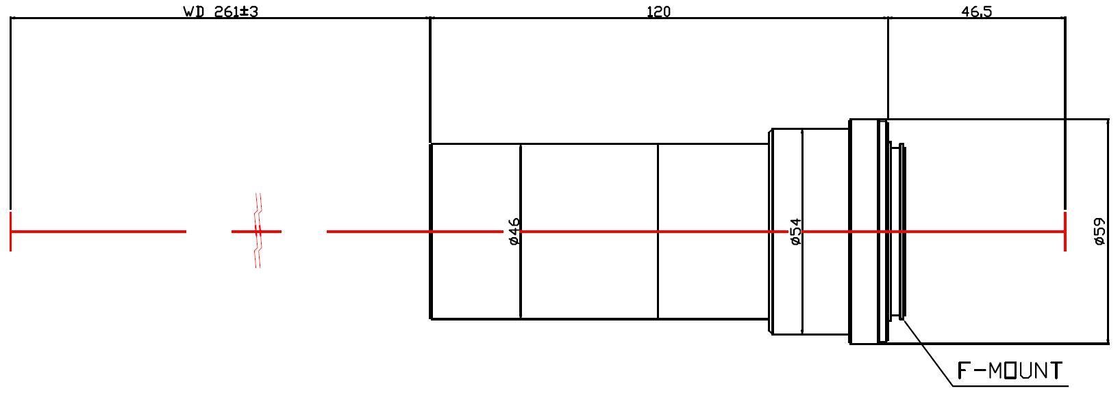 Lensagon MF8M-043-261
