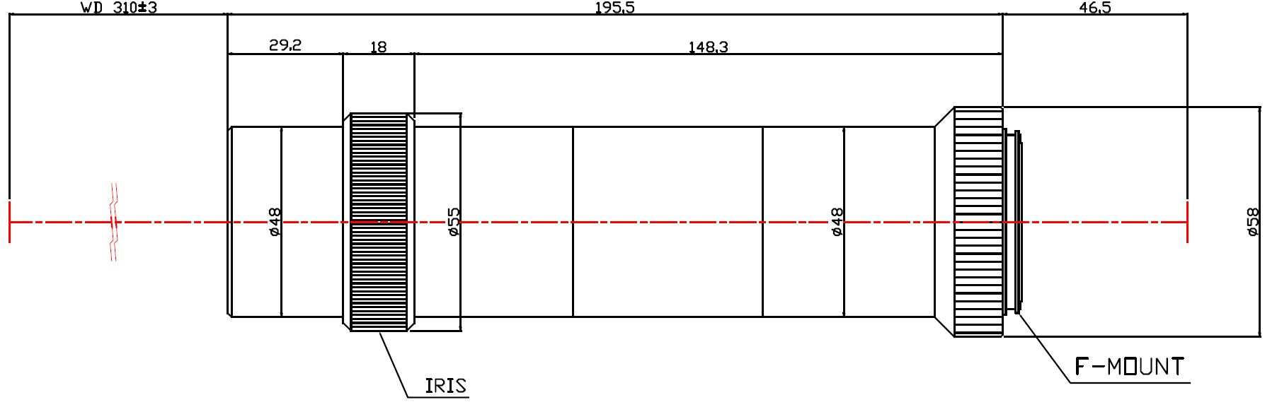 Lensagon MF8M-063-310I