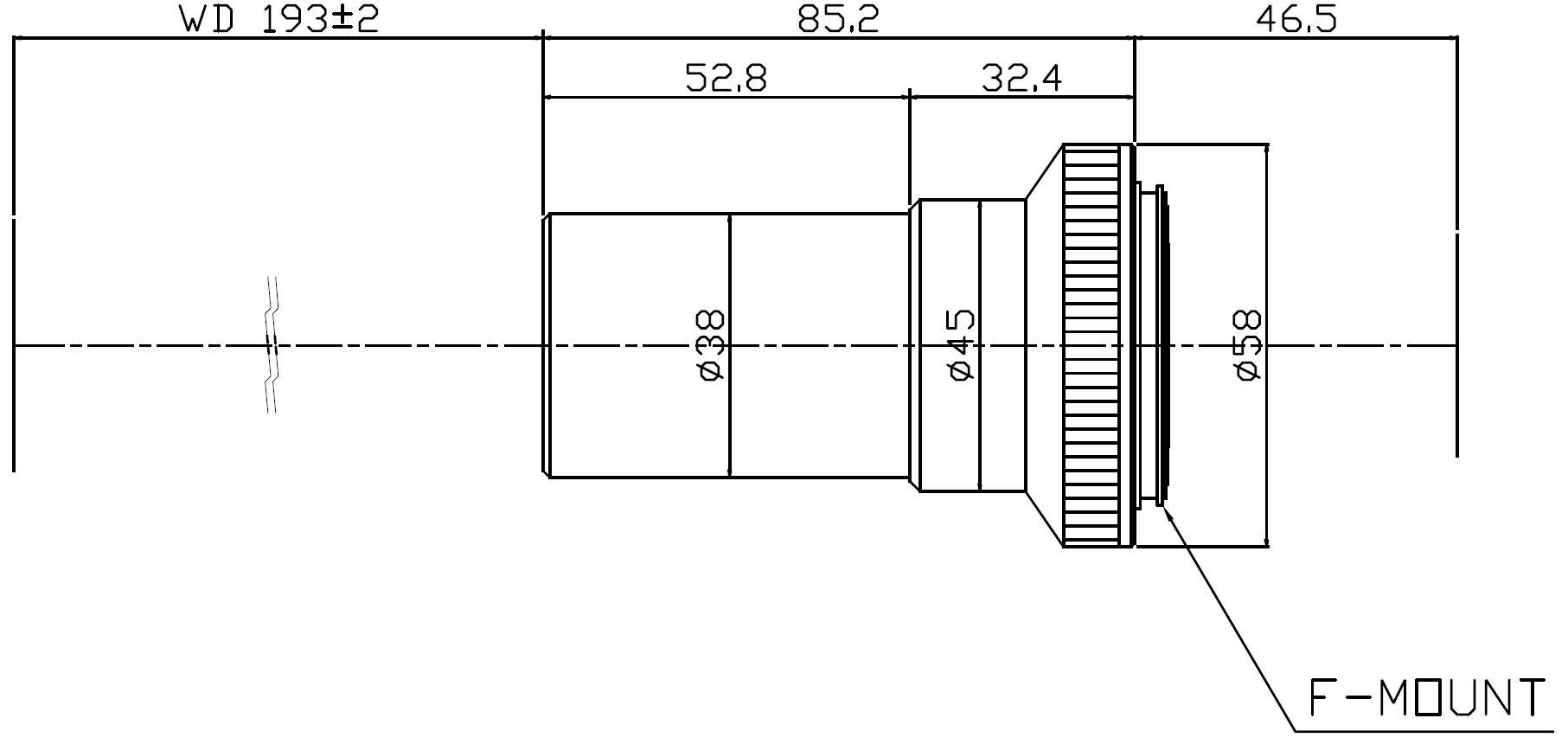 Lensagon MF8M-075-193