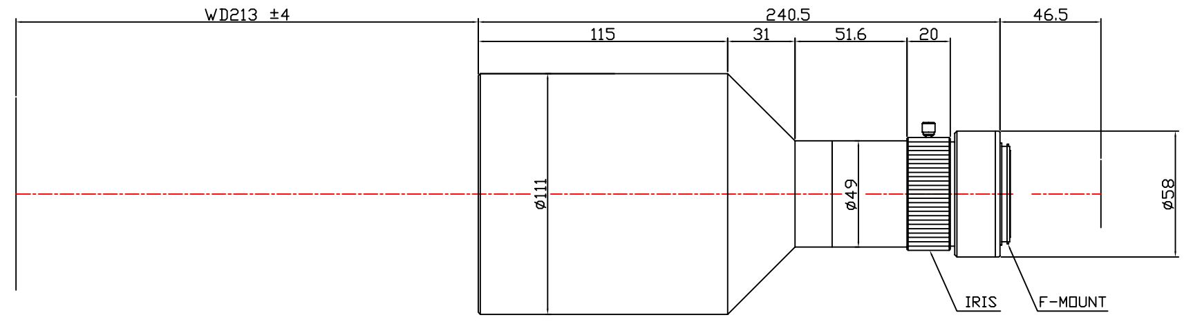 Lensagon T25M-035-213I