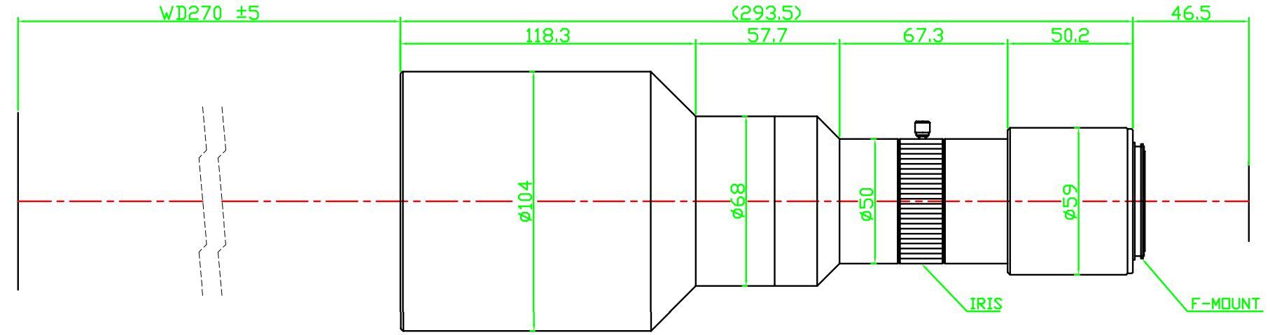 Lensagon T25M-045-270I