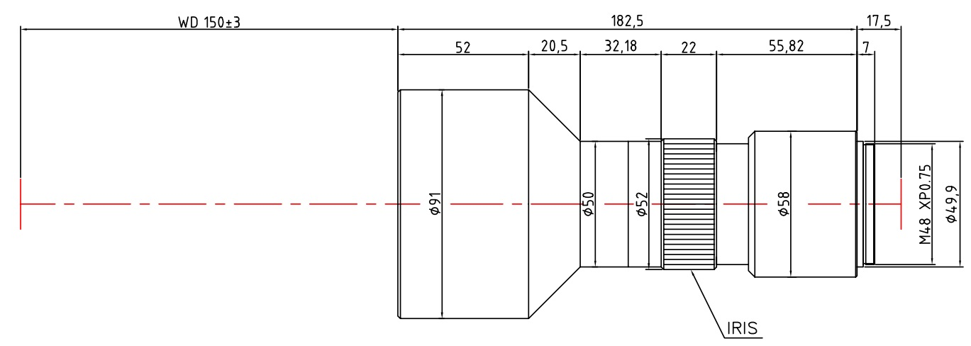 Lensagon T25M-046-150I