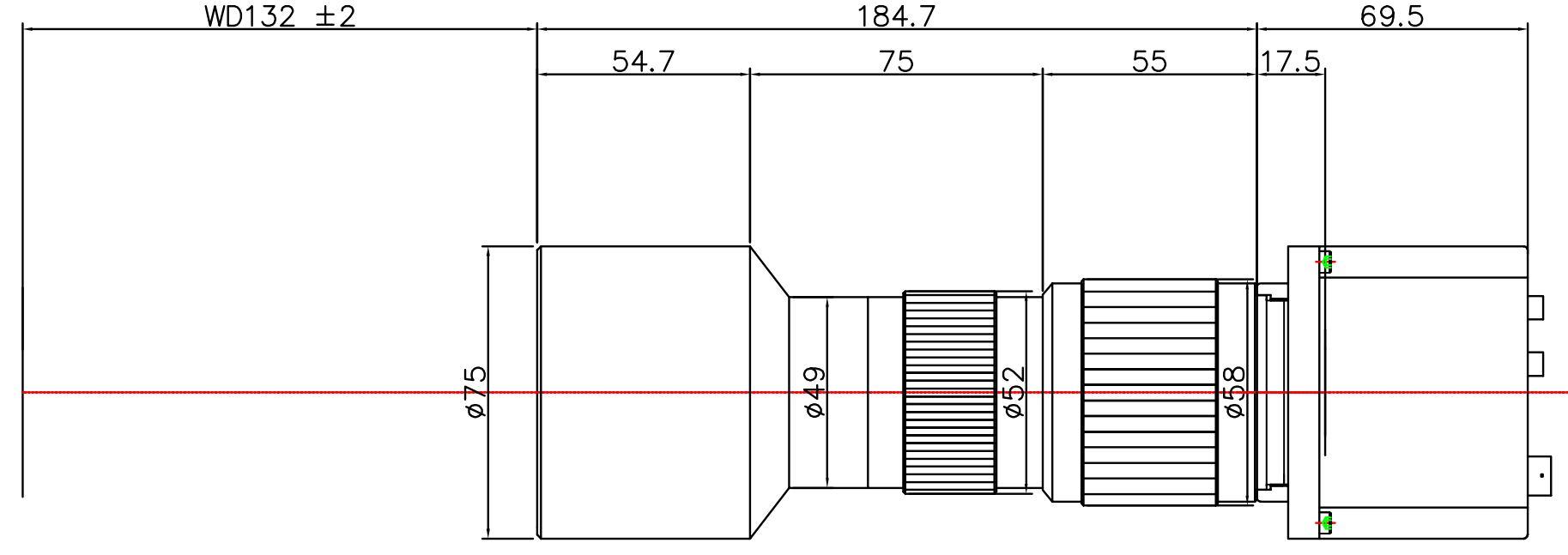 Lensagon T25M-06-132I