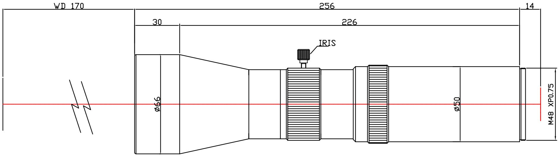 Lensagon T25M-092-170I