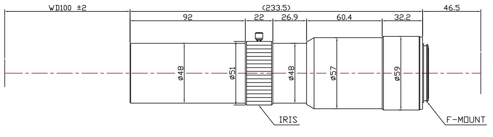 Lensagon T25M-15-100I