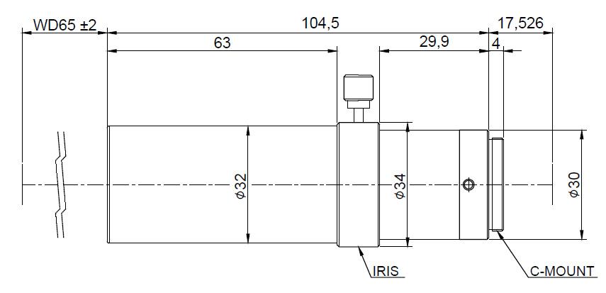 Lensagon TC10M-10-65I