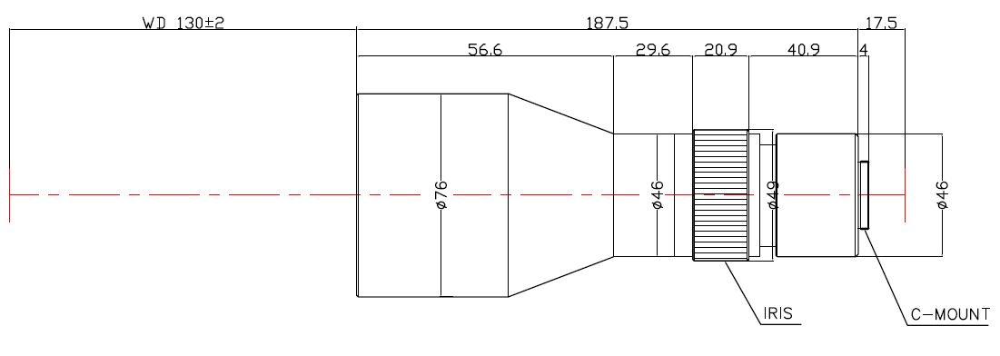 Lensagon TC4MHR-0312-130I