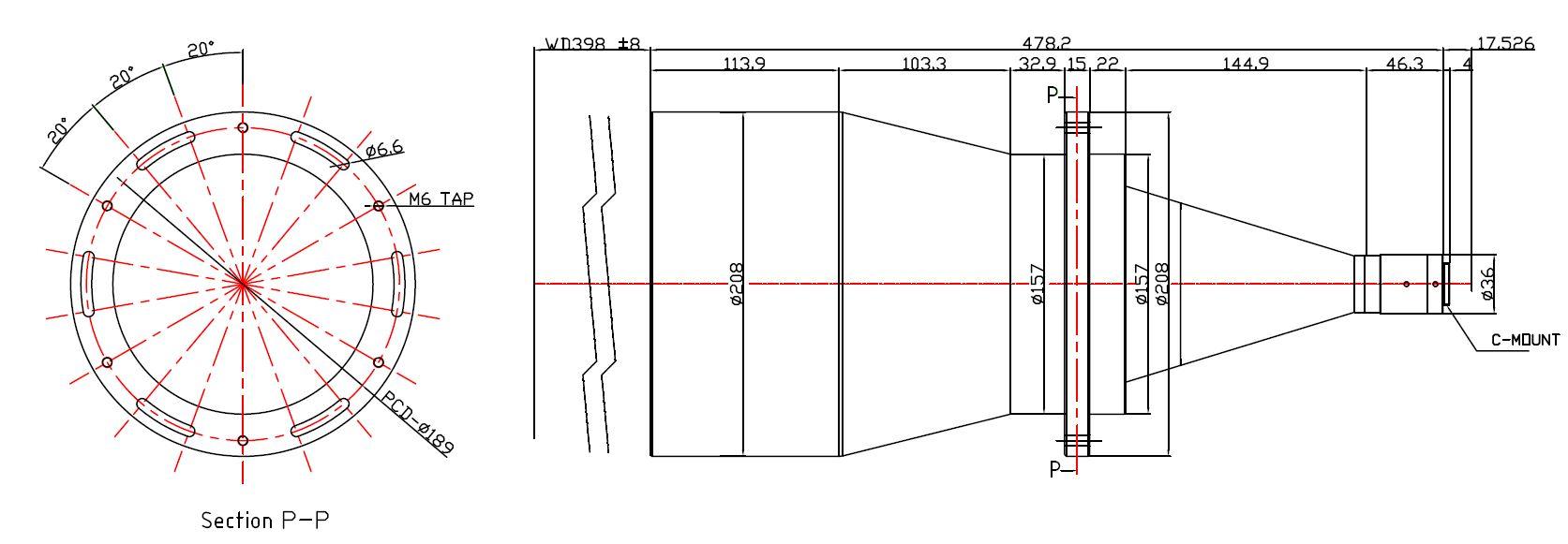 Lensagon TDC-0044-398
